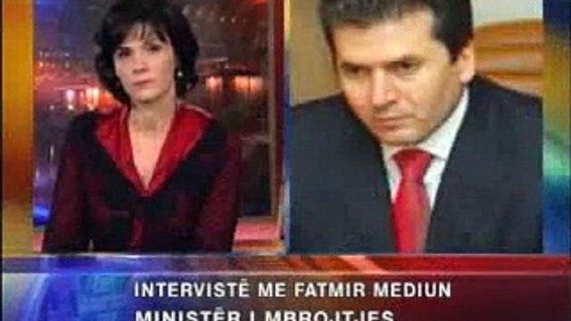 Ministri i Mbrojtjes, Mediu flet për situatën në Gërdec