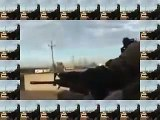 Iraq War   US soldiers fighting in Fallujah, extreme combat footage