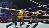 WWE Elimination Chamber 2015 Nikki Bella vs Paige vs Naomi Divas Championship Full Match in HD Triple Threat Match 2015