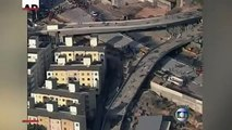 Raw: Unfinished Overpass for World Cup Collapses