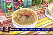 Feria de comidas regionales: alternativas para comer en Fiestas Patrias