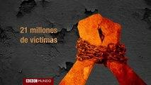 En 60 segundos: Las alarmantes cifras del tráfico humano en el mundo
