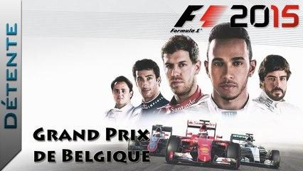 Détente | F1 2015 : Grand Prix de Belgique