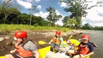 River Rafting on the Toro in La Fortuna, Costa Rica with Singles in Paradise