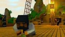 Minecraft Animation ASSASSINS CREED 4! (Sky Edition)