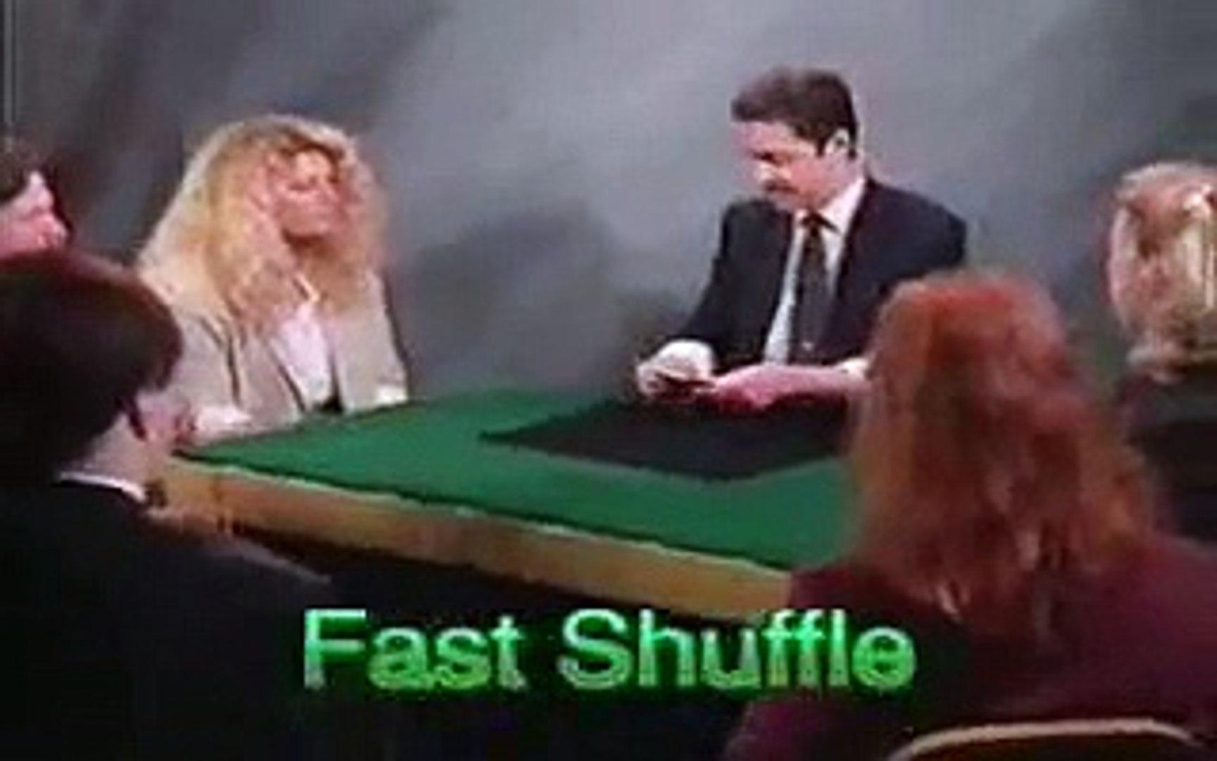 Darwin Ortiz Stacking the deck (fast shuffle)