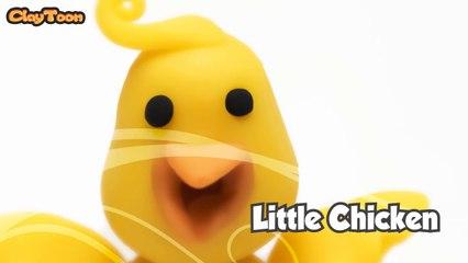 Little chicken - Polymer clay tutorial  كتكوت صغير - تشكيل صلصال للأطفال