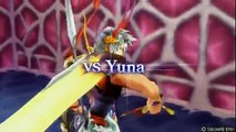 Dissidia 012: Duodecim Final Fantasy - vs. Yuna Encounter Quotes