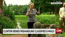 Hillary Clinton denies mishandling classsified emails - LoneWolf Sager(◑_◑)