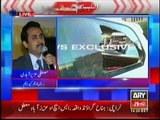 PTI runaway MQM defended Altaf Hussain and MQM Shaheeds at Jinah Ground Karachi