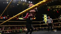 NXT Champion Kevin Owens reacts to his victory over Finn Bálor: WWE NXT, March 25, 2015