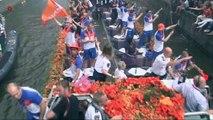 NOS Headlines - WK 2010, de rondvaart en de huldiging van Oranje in Amsterdam