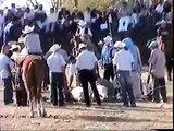 Santiaguillo - Jaripeo - tocando la cabrona - Zamora Michoacan Mexico