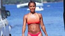 Bikini-Clad Jada Pinkett Smith in Hawaii