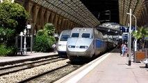 SNCF TGV 9884 Nice - Bruxelles assuré par une rame TGV-R à Nice Ville