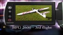 Hobbyking BFG 2600 Glider - 3rd flight