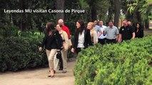 Visita leyendas ManUtd a Viña Concha y Toro   ManUtd legends visit Concha y Toro winery