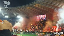 Roma Ultras against Juventus in the Coppa Italia - The Best Of Football Fans HD