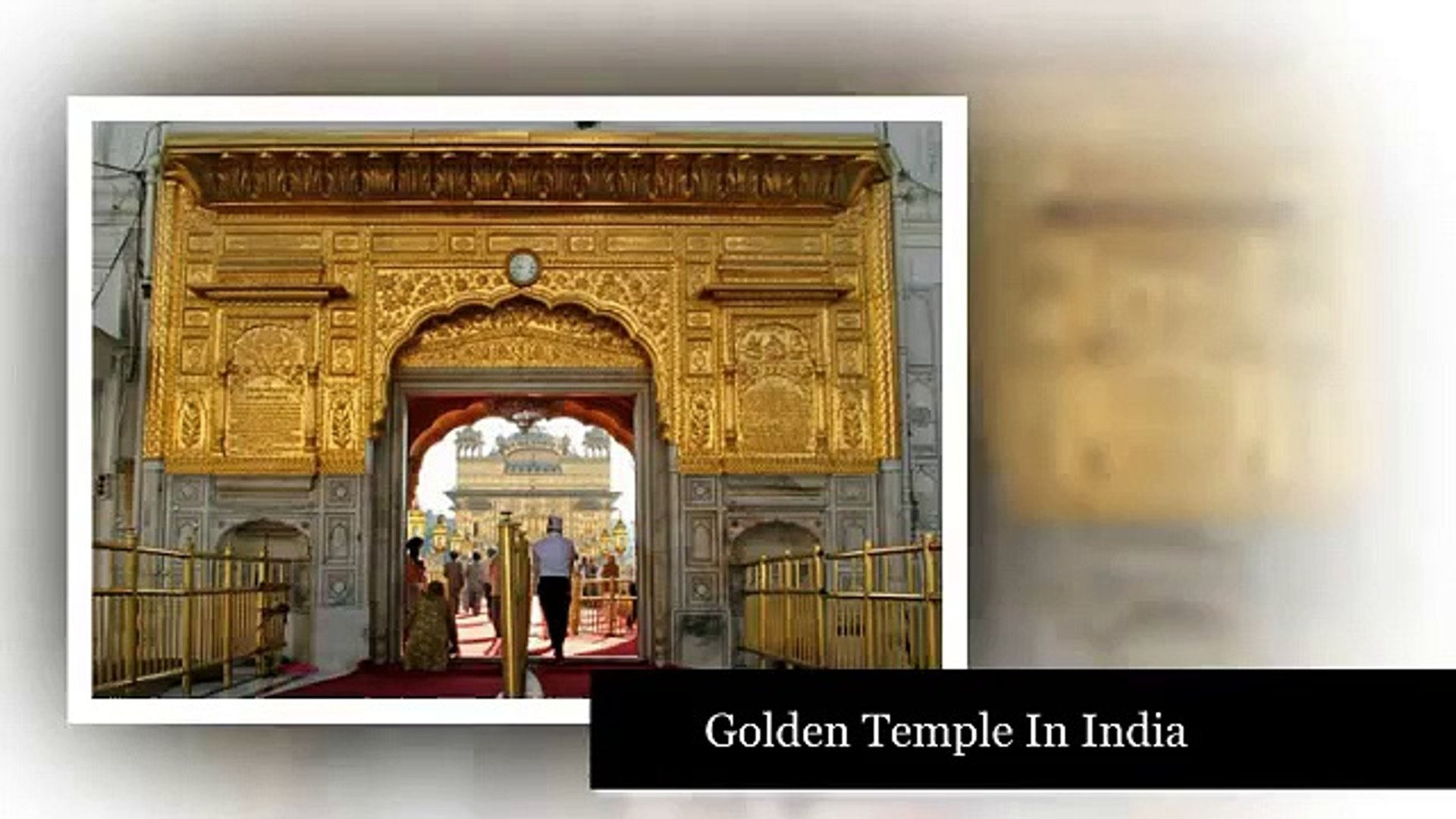 Golden Temple in India - Golden temple history