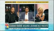 "Pr. Aldea, istoricul Mircea Stanescu si C. Tarziu in dezbatere TV despre Legea asa-zis ""anti-legionara"""