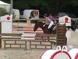 Chute de cheval en concours (RISSA DU VIVIER)
