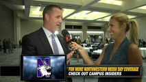 Northwestern's Pat Fitzgerald On Playing Linebacker Again