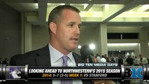 Northwestern's Pat Fitzgerald On Naming A Starting Quarterback