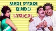 Meri Pyari Bindu Full Song With Lyrics | Padosan | Kishore Kumar Hit Songs | R D Burman Hits