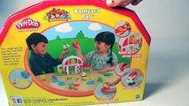 PLAY DOH AMIGUITOS DE LA GRANJA Play Doh Farm Barnyard Pals Animal Activities Mundo de Jugutes