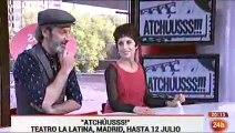 Adriana Ozores y Ernesto Alterio en Cultura en 24h - YouTube
