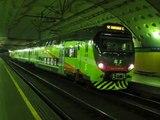 FNM Ale711 at Stazione Repubblica, Northern Milan Railways