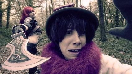 LEAGUE OF LEGENGS Live Action - Teemo vs Katarina