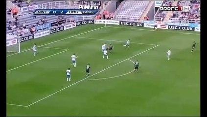 0-1 Thorgan Hazard Goal International Club Friendly - 01.08.2015, Newcastle Utd 0-1 B. Monchengladbach