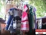 handicrafts exhibition by swat womens in saidu sharif swat valley pakistan sherin zada express news swat