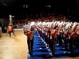 Clemson Tiger Band plays Eye of the Tiger