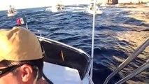 Extreme shotgun start in the Tuna Jackpot in Cabo San Lucas Nov. 2010