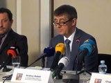 Tisková konference na téma loterií a hospodaření s majetkem státu