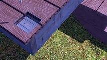 7 - Composite Decking installation - Railings