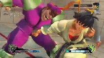 Ultra Street Fighter IV battle: Makoto vs M. Bison