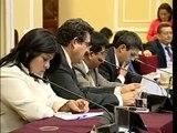 Merino presenta  Articulados para ser considerados para el Presupuesto del año  2014