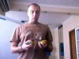 Обучение жонглированию 3 мя шарами-личный опыт!