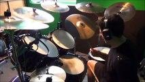 Iron Maiden - Where Eagles Dare Drum Cover