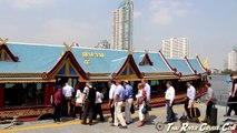 Bangkok River Cruise Tour Private by Luxury Boat Rice Barge Chaophraya River