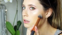 Date Night Hair & Makeup: Golden Green & Navy Smokey Eye Collab with MeMyMouse1 | Beautyos