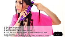 "★ ""MESSY"" BEACH WAVES CURLS TUTORIAL 