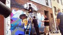 Tone & Crone - Brooklyn Graffiti NYC - Graffiti Mural Art