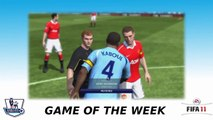 FIFA 11 Gameplay (PS3) - Barclays Premier League Game of the Week: Manchester United vs Tottenham