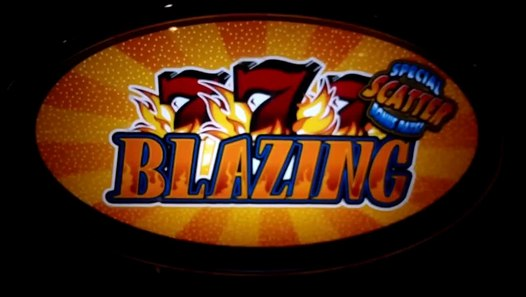 Blazing 7 S Scatter Jackpot Slot Machine Video Dailymotion