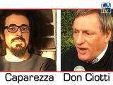 Intervista doppia Don Ciotti Caparezza, di Dario Migliardi