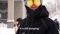 Japan Skiing - A Great Day of Powder Skiing at Houdaigi Ski Resort